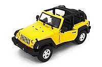 Машинка радиоуправляемая 1:14 Meizhi Jeep Wrangler (желтый), фото 1