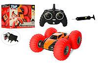Машинка перевёртыш на радиоуправлении с надувными колесами YinRun Speed Cyclone оранжевая