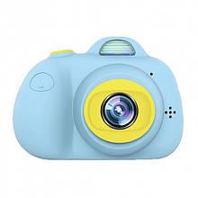 Фотокамера для детей Kids Camera c дисплеем (синяя)