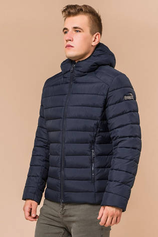 "Зимняя сине-черная куртка для мужчин Braggart ""Aggressive"" на тинсулейте  размер 48 50 52 54 56, фото 2"