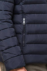 "Зимняя сине-черная куртка для мужчин Braggart ""Aggressive"" на тинсулейте  размер 48 50 52 54 56, фото 3"