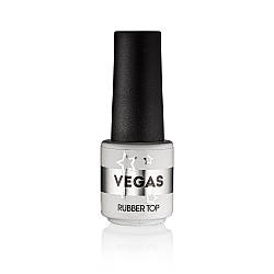Каучуковое верхнее покрытие (топ/финиш) для гель лака Vegas Rubber Top 6 г