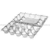 Пластиковая упаковка для яиц 15шт ПС-3615, 246*148*65