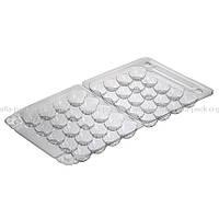 Упаковка для перепелиных яиц 20шт ПС-111, 155*150*40 (600 шт в ящике), фото 1
