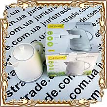 Чайник електричний Maestro, кераміка, 1,5 л.(диск.), 1200 Вт. № MR-069