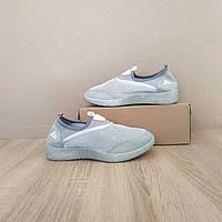 Серые аквашузы женские серебряные аква обувь кроссовки носки слипоны мокасины коралки