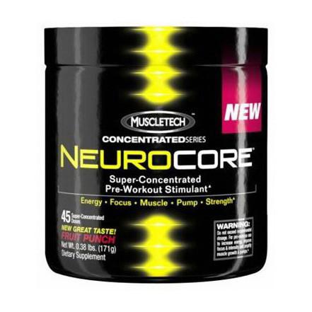 Предтренік MuscleTech Neuro Core (256 г) мускултеч cherry limeade