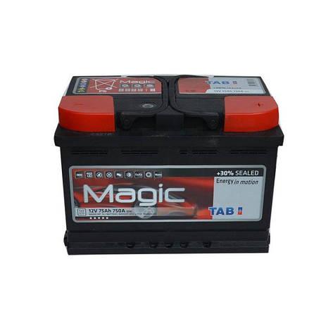 TAB 6СТ-75 АзЕ Magic 189072 Автомобильный аккумулятор, фото 2
