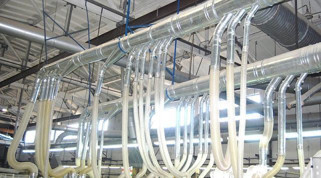 ПВХ шланги для вентиляції діам.від 50мм до 200мм PCV FL, товщина 0,5 мм, завод Rondo2,Польща
