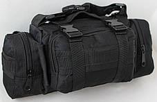 Сумка через плечо на пояс Штурмовая Туристическая Battler v.3. Армейская, Походная, тактическая, для рыбалки, фото 2