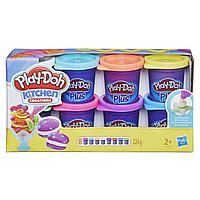 Hasbro Play Doh Плей-До Набор пластилина из 8-ми банок PLUS-A1206