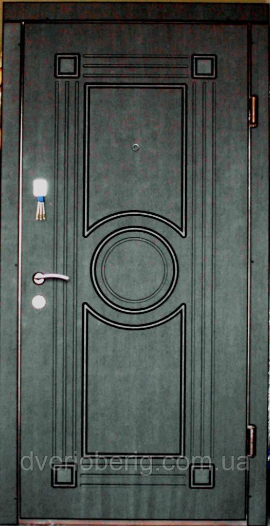Входная дверь модель П4-297 венге темный