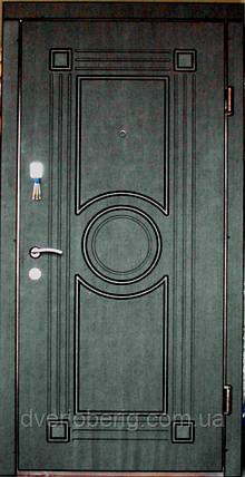 Входная дверь модель П4-297 венге темный, фото 2