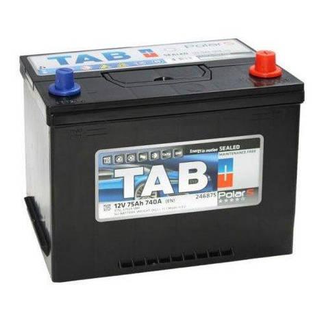 TAB 6СТ-75 АзЕ POLAR S Asia Автомобильный аккумулятор, фото 2