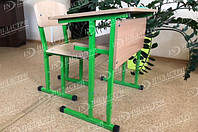 Комплект мебели ученический (школьный): Одноместная школьная парта + стул, согласно требований НУШ