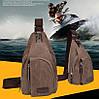 Сумка - барсетка через плечо Fashi большая 34 см Армейская, Туристическая, Походная, для Рыбалки и охоты, фото 2