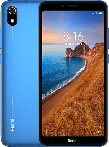 Xiaomi Redmi 7A 2/32Gb Matte Blue Гарантия 1 Год, фото 2