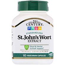 "Экстракт зверобоя, 21st Century ""St.John's Wort Extract"" (60 капсул)"