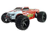 Модель машины монстр трака скоростная полноприводная в масштабе 1:18 Himoto Mastadon E18MT красная