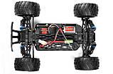 Модель машины монстр трака скоростная полноприводная в масштабе 1:18 Himoto Mastadon E18MT красная, фото 2