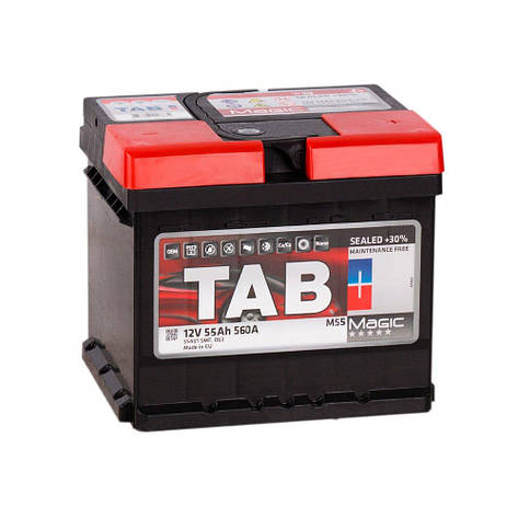 TAB 6СТ-55 АзЕ Magic 189058 Автомобильный аккумулятор, фото 2