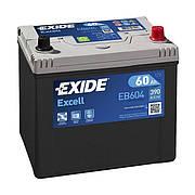 EXIDE 6СТ-60 АзЕ EXCELL EB604 Автомобильный аккумулятор