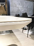 Стол обеденный ALABAMA (120+40)*80*77) керамика белый, Nicolas, фото 9