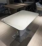 Стол обеденный ALABAMA (120+40)*80*77) керамика белый, Nicolas, фото 6