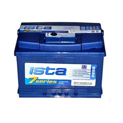 ISTA 6СТ-80 АзЕ 7 Series Автомобильный аккумулятор, фото 2