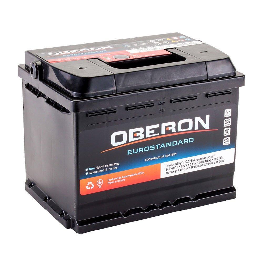 Автомобильный аккумулятор Oberon 6СТ-60 Аз Eurostandard