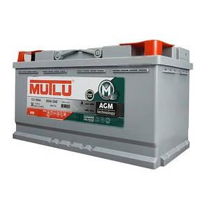 MUTLU 6СТ-95 АзЕ AGM.L5.95.090.A Автомобильный аккумулятор, фото 2