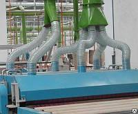 Рукава пвх аспирационные от  80мм до 200мм PCV LK, толщина 0,7мм, завод Rondo2,Польша