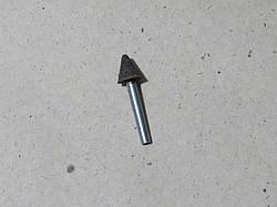 Абразивная шлифовальная головка кругло-коническая Ø16х16х6 P40 СТ1 14А Тип KW