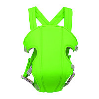 Рюкзак-слинг сумка кенгуру для переноски ребенка Baby Carriers 3-16 месяцев 4 положения зеленый