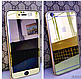 Комплект Стекла для Iphone 6/6S + бампер, gold, фото 3