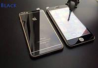 Зеркальные стекла для Iphone 6 plus/6s plus на переднюю и заднюю панель, black
