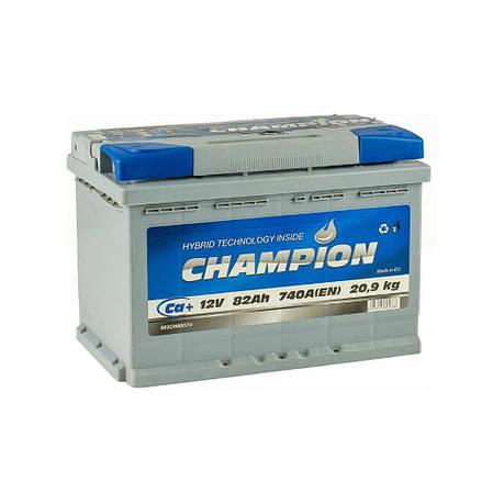 Champion 6СТ-82 АзЕ CHG82-0 Автомобильный аккумулятор, фото 2