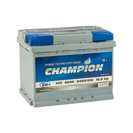 Champion 6СТ-65 Аз CHG65-1 Автомобильный аккумулятор, фото 2