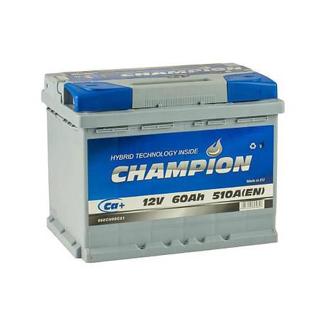 Champion 6СТ-60 АзЕ CHG60-0 Автомобильный аккумулятор, фото 2
