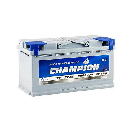 Champion 6СТ-105 АзЕ CHG105-0 Автомобильный аккумулятор, фото 2