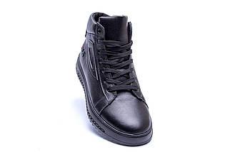Мужские зимние кожаные ботинки в стиле FILA, фото 2