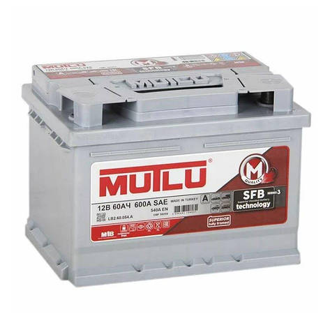 MUTLU 6СТ-60 АзЕ LB2.60.054.A Автомобильный аккумулятор, фото 2