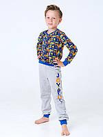 Пижама с начесом для мальчика Смил, арт. 104650, возраст от 11 до 14 лет