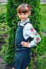 """Вышитая рубашка для девочек """"Розочки"""" ( арт. СА1-131.8.11 )"""