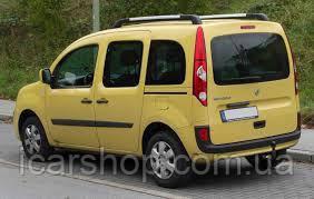 Стекло Renault Kangoo II 08- заднее салона левое LG