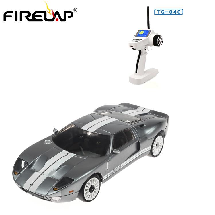 Автомодель р/к 1:28 Firelap IW04M Ford GT 4WD (сірий)