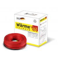 Нагревательный кабель Wärme Twin flex cable  2,0-2,5 м²  375 W