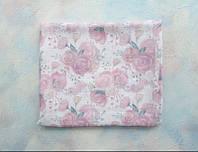 Муслиновая пеленка «Розы» (бамбук)