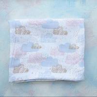 Муслиновая пеленка «Облака» (бамбук)