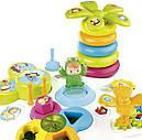 Детский игровой столик Цветочек со звуковыми и световыми эффектами сине-белый Smoby Cotoons, фото 3
